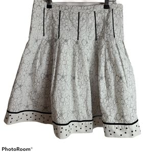Authograph New York cotton lined skirt
